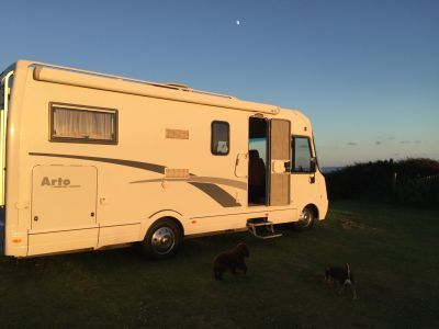 Demelza Motorhome on tour in Cornwall